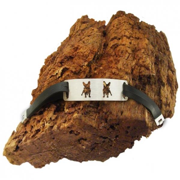 "Armband ""Französische Bulldogge"""