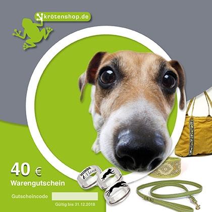 Krötenshop.de - 40 Euro Warengutschein