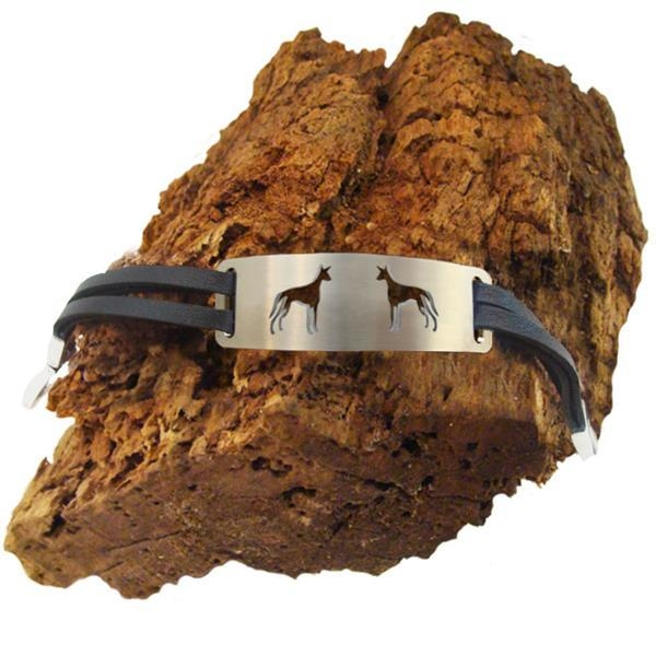 "Armband Hundemotiv ""Podenco"""