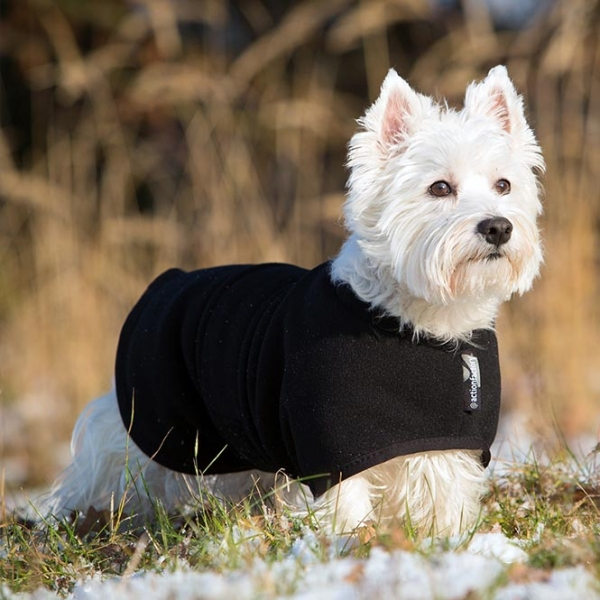 """Ein Hundemantel zum Wenden """"warmup-cape classic mini"""""""