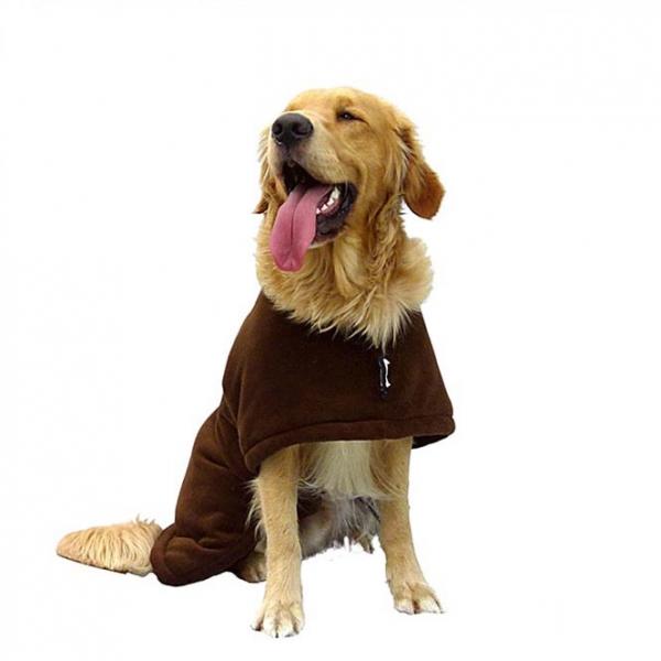 """Ein Hundemantel zum Wenden """"warmup-cape classic"""""""